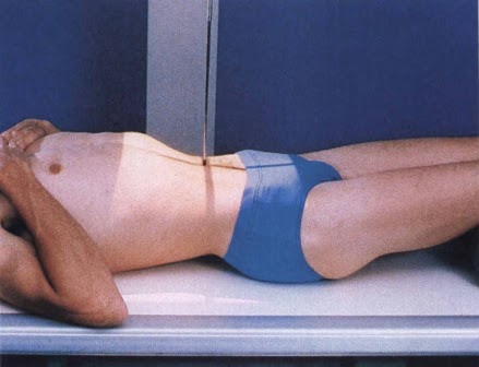 Patient positioning of supine KUB (source)