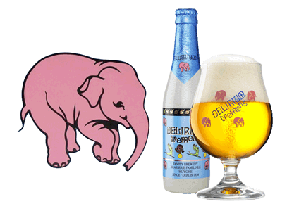 Delirium tremens is a sever form of alcohol withdrawal. Interestingly enough there is a beer named after this condition (source).