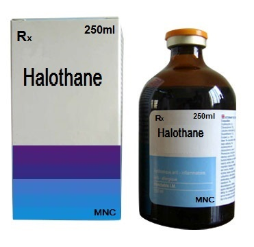 """Halothane usage is one of the """"classic"""" examples of inhaled anesthesia that can cause malignant hyperthermia (source)"""