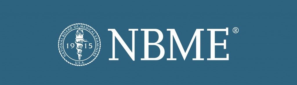 The NBME is the organization that is responsible for creating the shelf exams that are administered (source)