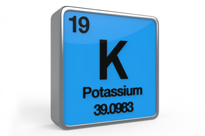 When the levels of potassium rise too high in the blood, patients are said to be hyperkalemic (source)