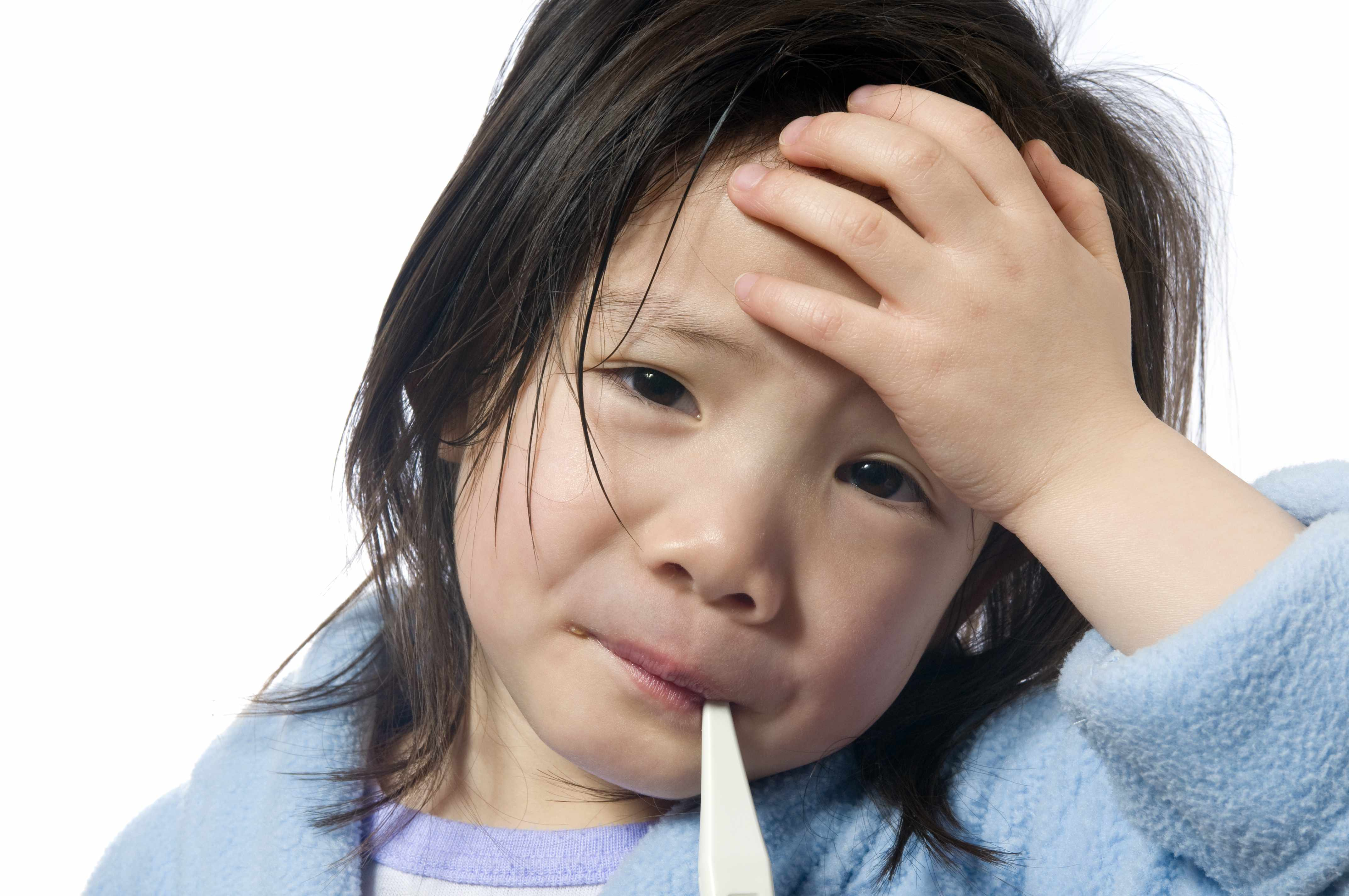 A pediatric fever is a very generic term that often needs further qualification (source)